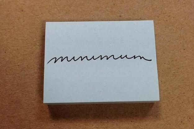 21 Pieces Of Handwriting So Perfect They're Borderline Erotic