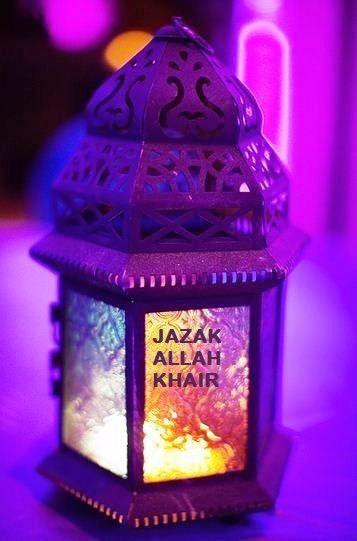 Jazzak Allah Khair
