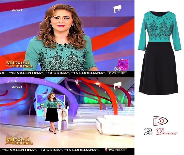 In dimineata aceasta la MIREASA PENTRU FIUL MEU! #VAIDA #ROCHIIPERDONNA #SEPOARTAPERDONNA Gasiti rochia pe mai multe culori aici: http://ift.tt/1lE6cNh www.perdonna.ro