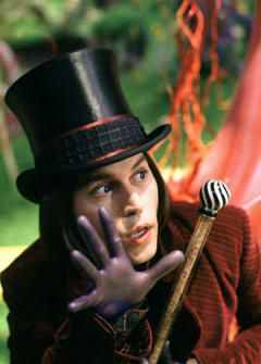 Willy Wonka by Tim Burton