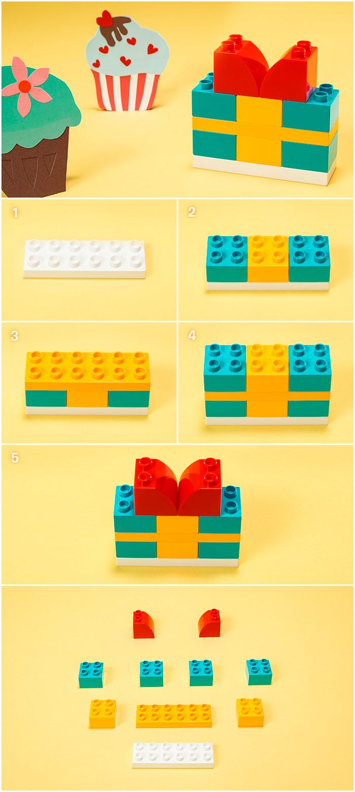 Heard the saying that children need presence, not presents from their parents? This LEGO® DUPLO® DIY build ticks both gift boxes.
