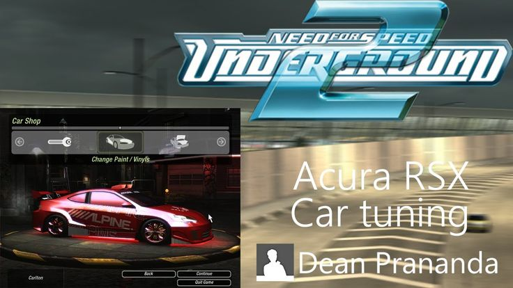NFS Underground 2 - Acura RSX Tuning #needforspeed #ea #like #likes #follow #followme #follower #followers #follow4like #follow4follow #sub #subs #sub4sub #subs4subs #subscribe #subscriber #subscribers #share #promote #promotion #video #watch #comment