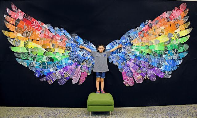 smART Class: Feather Wings Mural