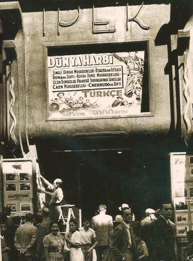 Beyoğlu İpek Sineması (1940'lar).