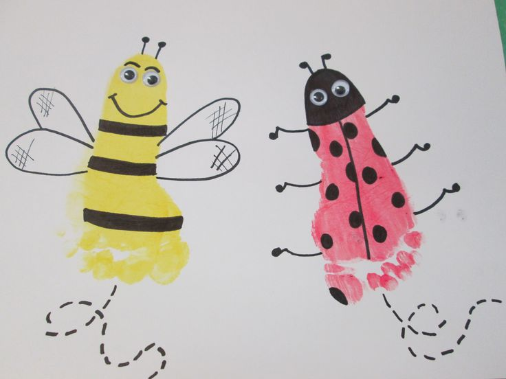 Insect Crafts For Infants