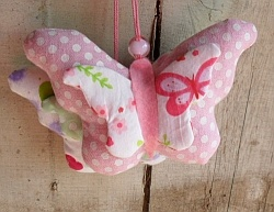 fabric butterflies - to make to seLL, LOL