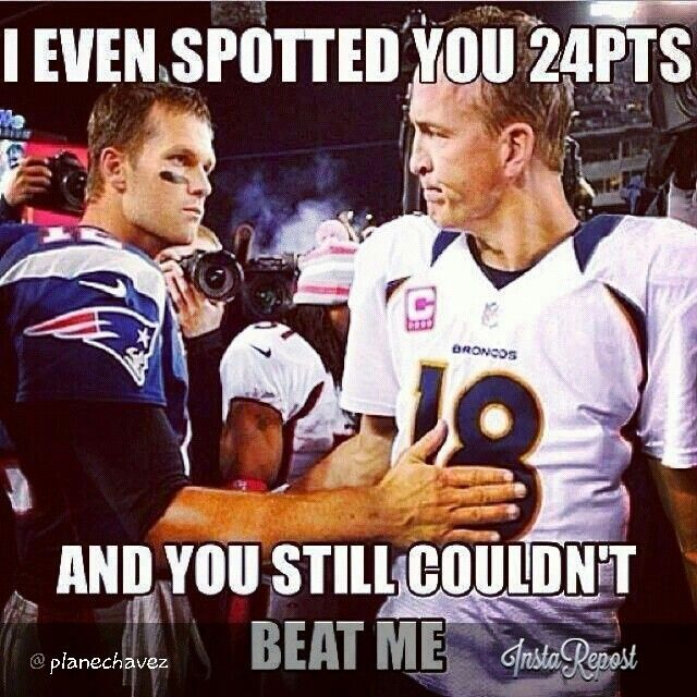 Patriots Come Back From 24 Down To Beat Manning And The