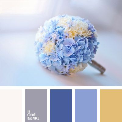 color azul hortensia, color del ramo de novia, colores para un ramo de novia…