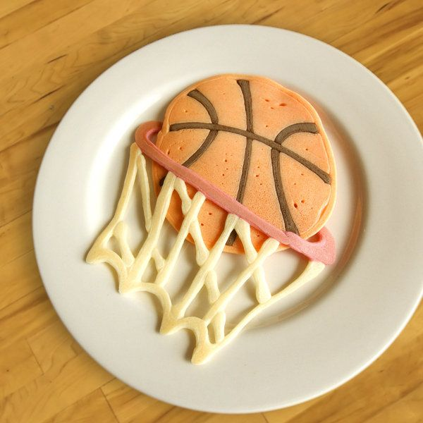 Basketball pancakes anyone? Find the recipes and more in Jim Belosic's OMG PANCAKES as seen on the Today Show