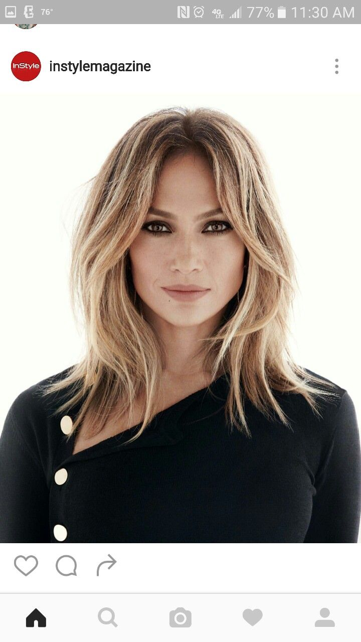 J  Lo  hair instylemagazine