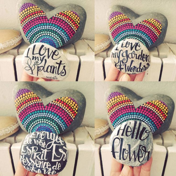 De beaux galets, des phrases positives et un jardin merveilleux 🌿🎨😋😉 #carinecreation65 #dessin #pointillism #dotillism #artistwork #dotwork #blackandwhite #blancetnoir #ilovemyplants #ilovemygarden #wonder #delacouleurpleinlatete #galet #cailloux #piedras #petitdessin #calligraphy #decozen #deconature #yogadecor #decojardin #petitscailloux  #decosympa #arttherapie #stone #encredechine #motpositif #onestbienla #vivrebien #simplement