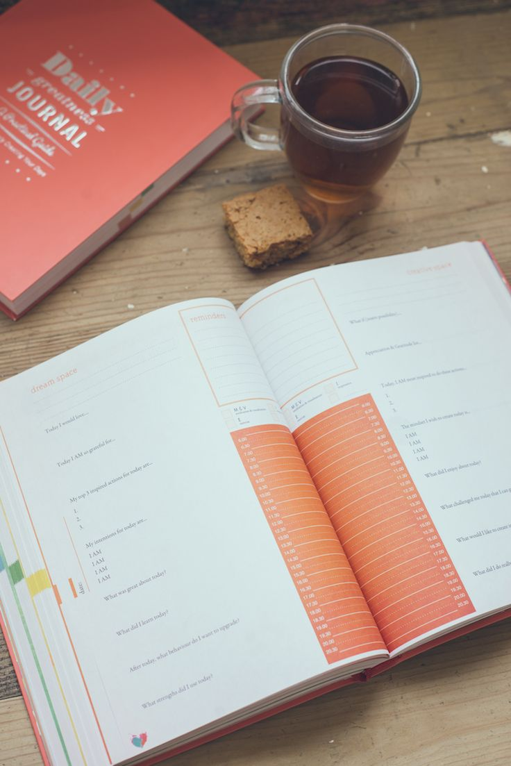 A Practical Guide for Consciously Creating Your Days #dailygreatnessjournal #journal #books #yoga #goals #gratitude