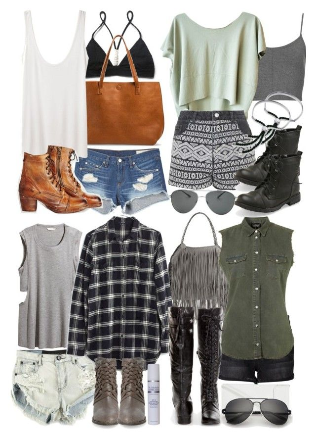 Malia Inspired Summer Camping Outfits By Veterization Liked On Polyvore Featuring Free People