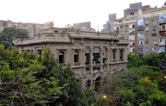 PRİNCE SAİD HALİM SARAYI-CHAMPOLLİON EVİ / Kahire / Mısır / Bu rezidans 1899 yılında Antonio Lasciac tarafından tasarlandı. Daha sonra bir erkek kolejine dönüştürüldü. 2004 yılından beri boş.