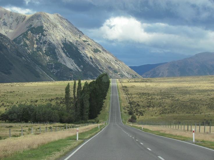 never ending road, New Zealand!