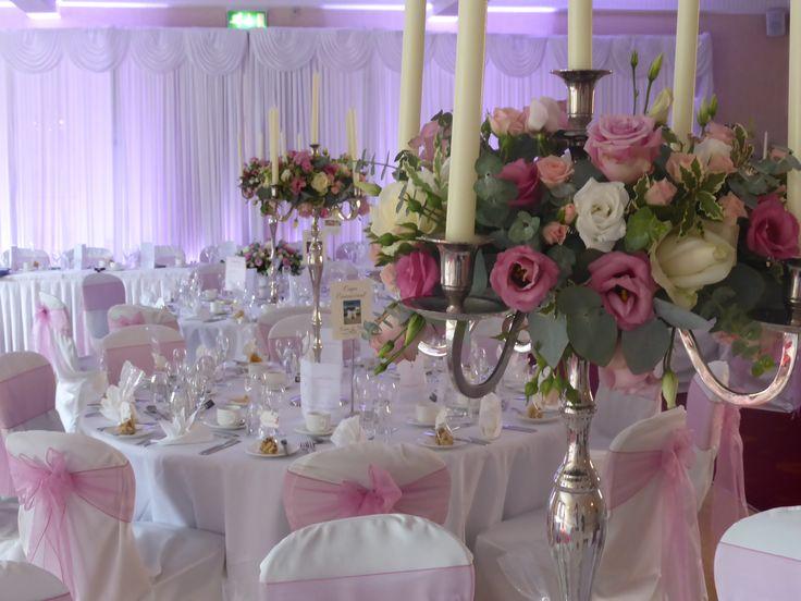 Wedding reception at the Glen Yr Afon House Hotel