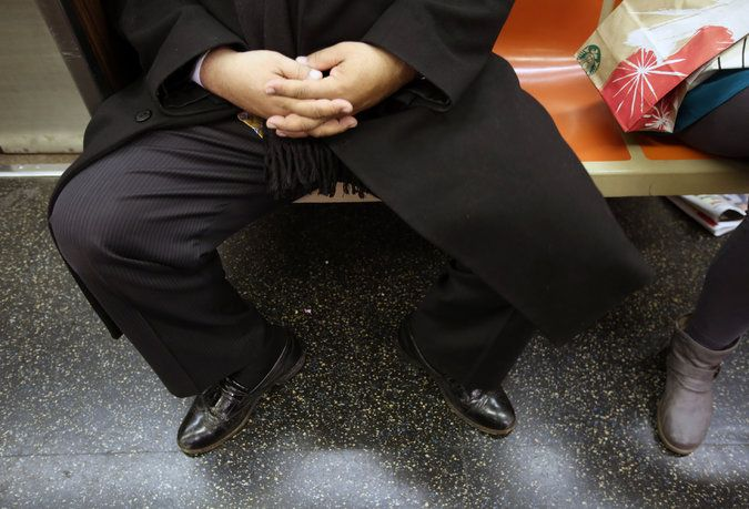 It is the bane of many female subway riders, a practice with a name almost as off-putting as the act itself: manspreading. Now, the Metropolitan Transportation Authority is targeting it with new ads.