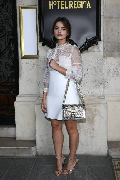 02271d1ec5bc Jenna Coleman attends Miu Miu 2019 Cruise Collection Show at Hotel Regina  on June 30 2018 in Paris France