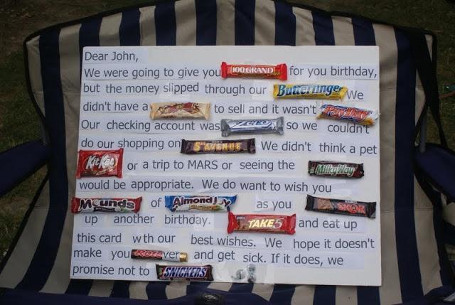 birthday candy poster