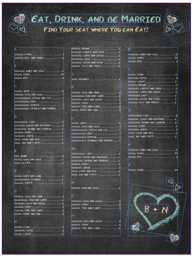 Best 20 Chalkboard Seating Charts Ideas On Pinterest Wedding Table Assignments Wedding