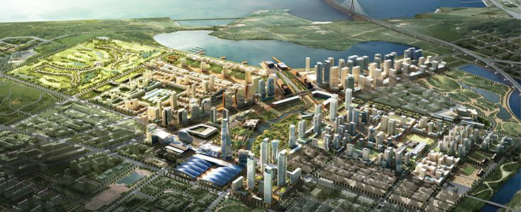 New Songdo City Incheon. City from scratch.