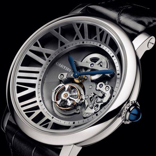blacksuitswhitecollars:        Cartier Cadran Lové Tourbillon Watch …
