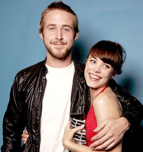Ryan Gosling and Rachel McAdams in 2004.