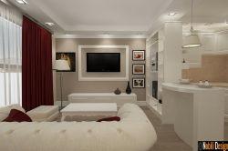 Design interior living stil clasic pentru casa sau apartament in Ploiesti