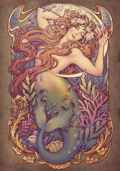 By Medusa Dollmaker| mermaids | Pinterest https://fr.pinterest.com/pin/172684966944964785/