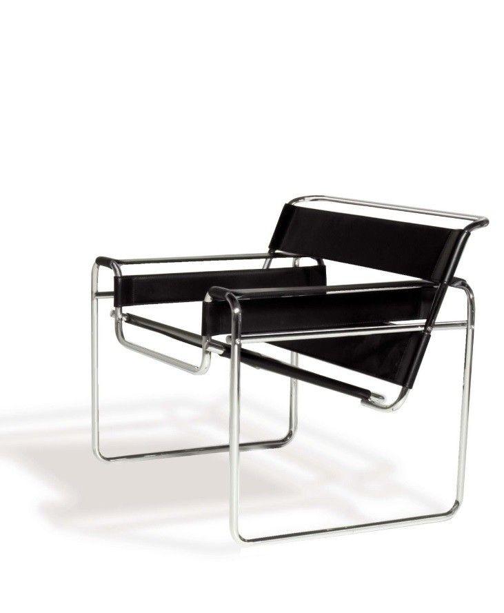Silla Wassily de Marcel Breuer - Disponible en la tienda online de Ámbar Muebles >>  http://www.ambar-muebles.com/silla-wassily.html