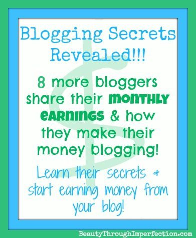 How Much Money Can a Blogger Earn? (part 3) - Beauty Through Imperfection