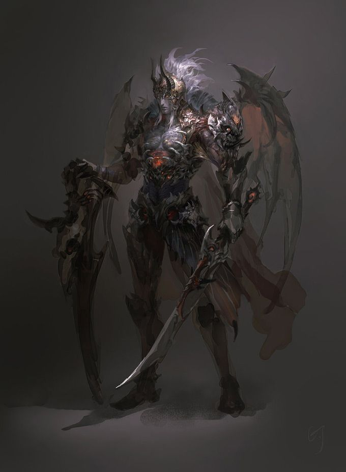 Guangjian Huang Concept Art and Illustration