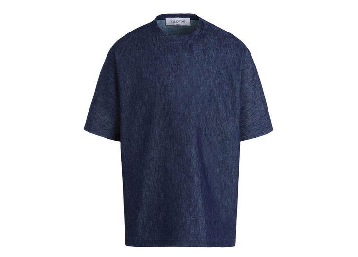 Valentino Tee-shirt en denim, 365 euros