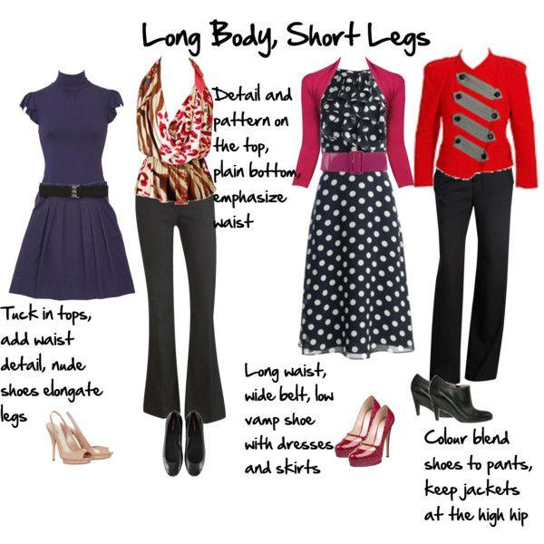 Long Body, Short Legs | Fashion Tips | Pinterest