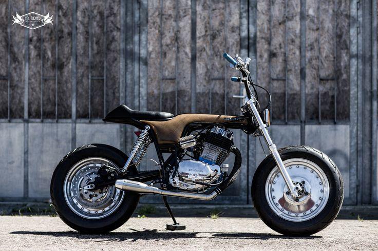 Honda XLS 'Mad'dax' - Ed Turner Motorcycles