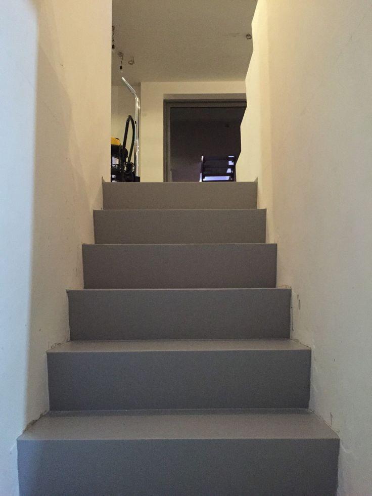Een kleine of een grote trap bekleden, het kan allemaal #stairs #opstap