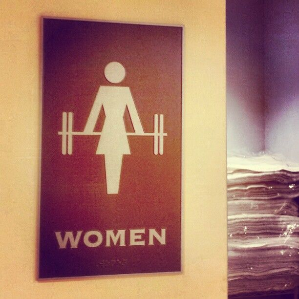 Bathroom Signs Gym daily motivation (25 photos) | gym, women lifting and crossfit