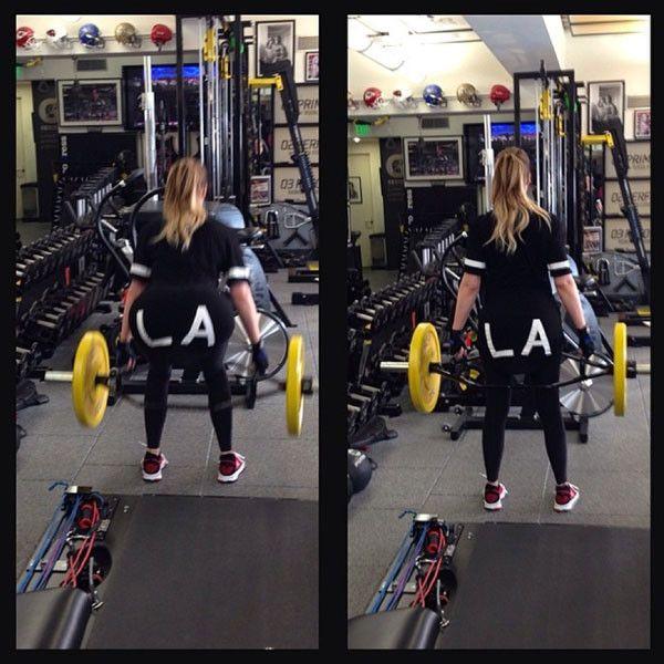9 Killer Workouts Stolen From Khloé Kardashian's Instagram  Khloe Kardashian Instagram