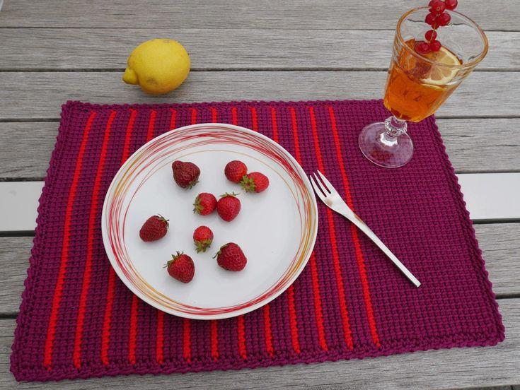 10 besten Tischset Bilder auf Pinterest   Häkeln, Stricken häkeln ...