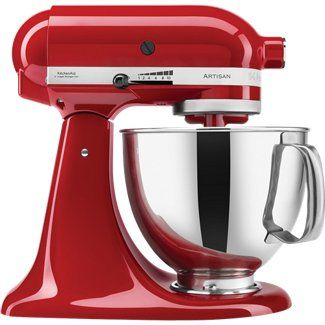 "10 Speed Control Clear 2-Piece Pouring Shield prevents splash-out 5 Rubber feet protect countertop and offer stability Includes Wire Whip and Dough Hook Comes with 5 Quart Stainless Steel Bowl Easy to keep clean Kitchen Aid Hassle-Free 1-Year Replacement Warranty (handled directly through Kitchen Aid) Color: Empire Red Unit Dimensions: 13.9"" High x 8.7"" Wide x 14.1"" Deep Unit Weight: 26 Pounds 4 Foot 110-120V AC power cord"