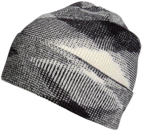 Missoni black cashmere patterned hat