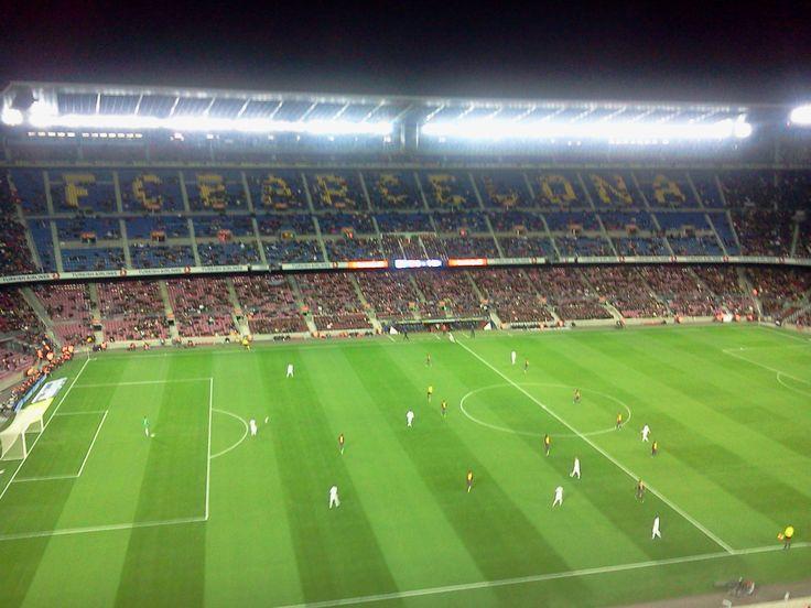 Estadio Camp Nou del FC Barcelona