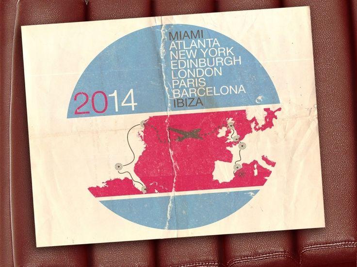 Gumball3000 - Miami to Ibiza - Atlanta - New York - Edinburgh - London - Paris - Barcelona - Ibiza !!