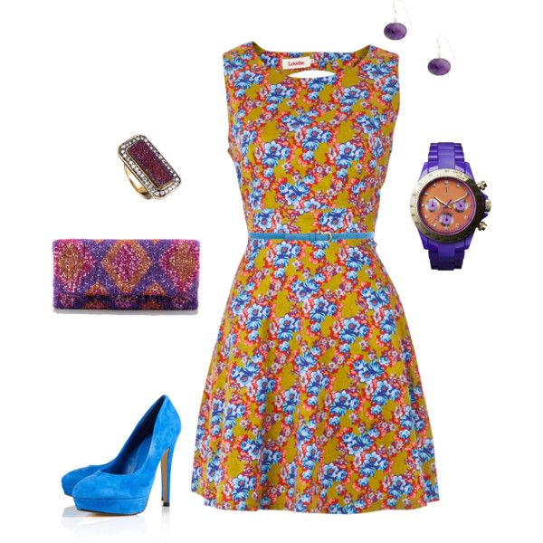 Un-Forgetful Blue, created by rosemary-dewar on Polyvore outfit