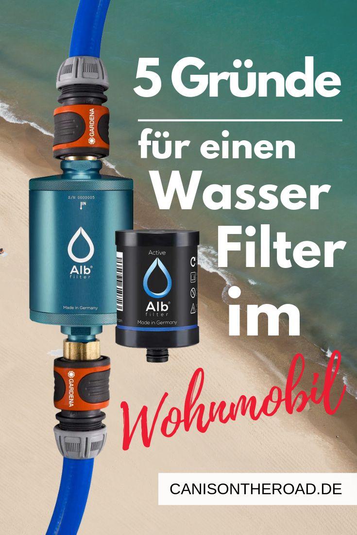 Wasserfilter fürs Wohnmobil- der perfekte Begleiter beim Camping