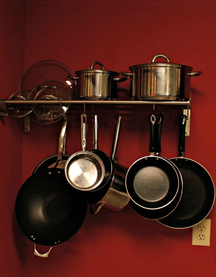Pot Rack - MrsBomb.com | Pot rack, Ikea hack, Rack