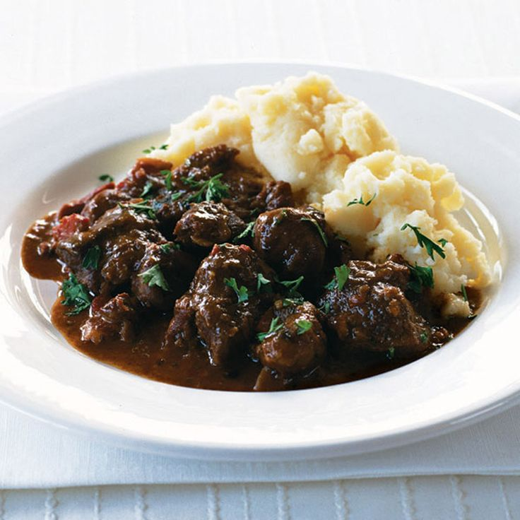 This is a hearty slow cooked venison and chestnut recipe, perfect to for a cold winter's night.