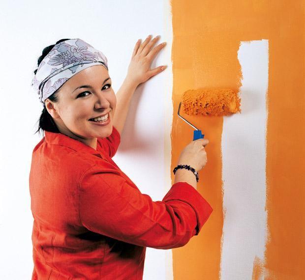 Покраска стен: внутренние стены своими руками