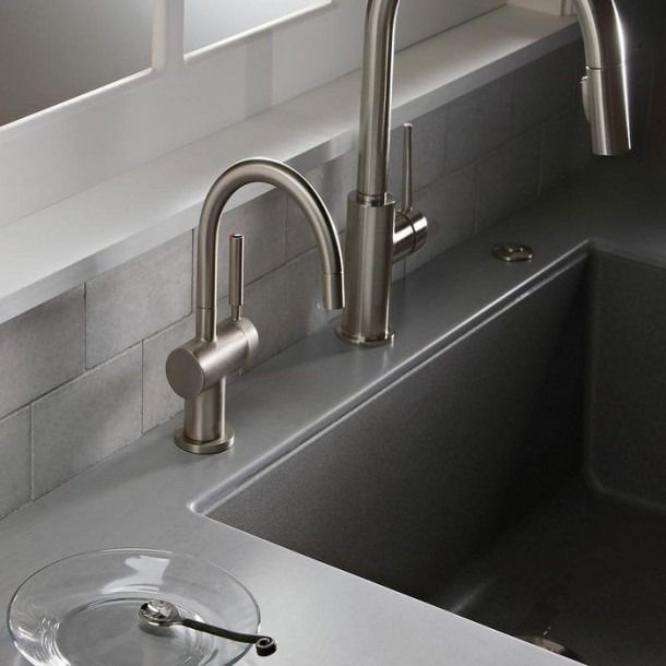 Kitchen Faucet With Filtered Water Dispenser In 2020 Filtered Water Dispenser Hot Water Dispensers Kitchen Faucet