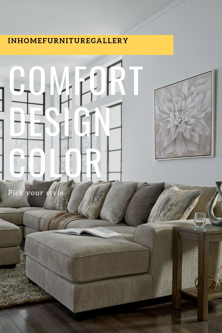 Ashley ardsley contemporary 5 piece sectional.  Ashley furniture